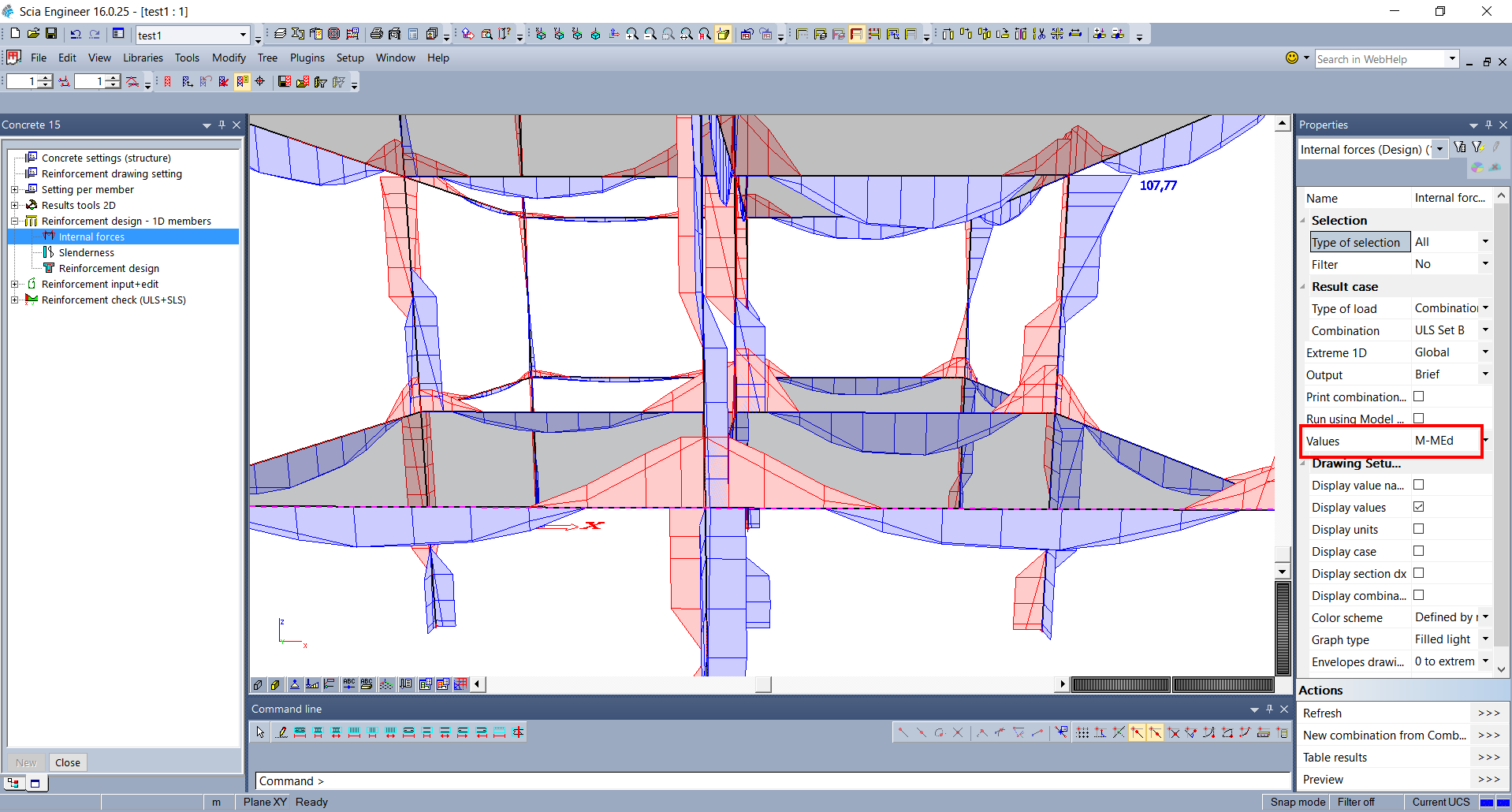 Concrete design extension of the new 1d solution other improvement in scia engineer 160 pooptronica Choice Image