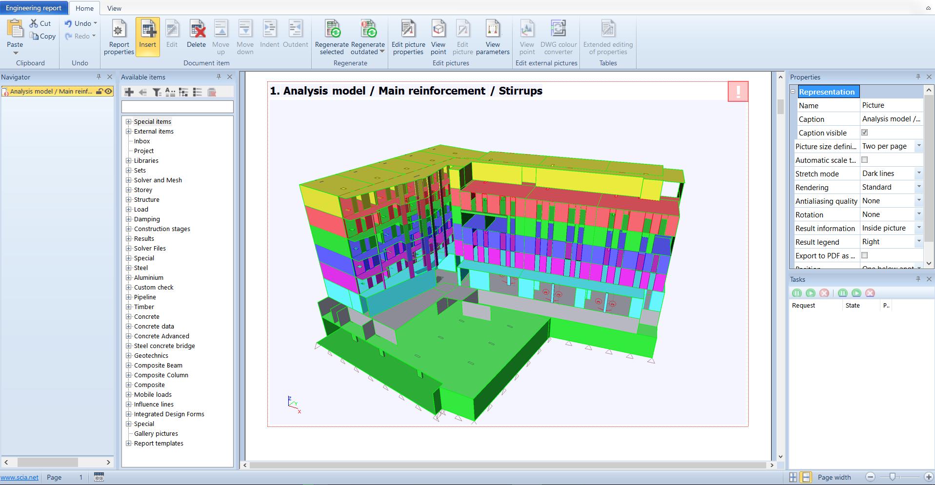 Engineering Report in version 17