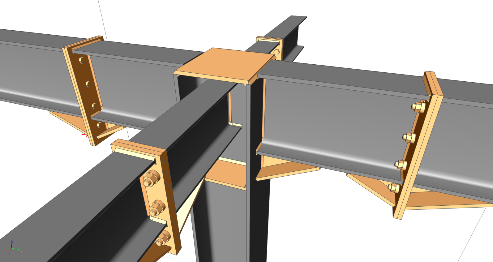 Steel Connection Design Extensions In Scia Engineer 16 1