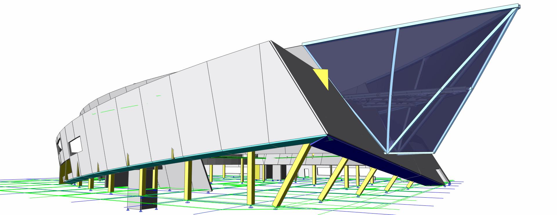 Composite beam design according to AISC 360 (esacbd 01 05)