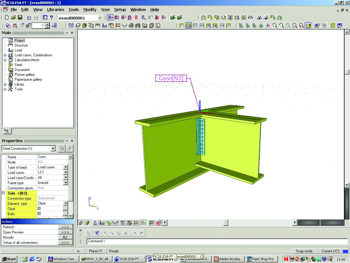 Modelleerfunctie Voor Staalverbindingen Esa18